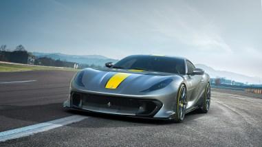 Photo Ferrari 812 Competizione 2021
