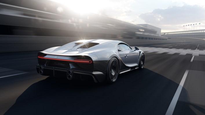 Photo arrière Bugatti Chiron Super Sport 2021
