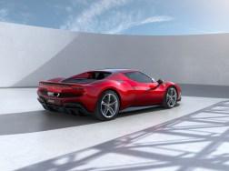 Photo arrière Ferrari 296 GTB 2021