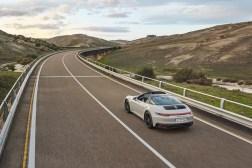 Photo arrière Porsche 911 GTS 2021