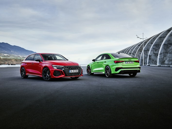 Photo statique Audi RS 3 2021