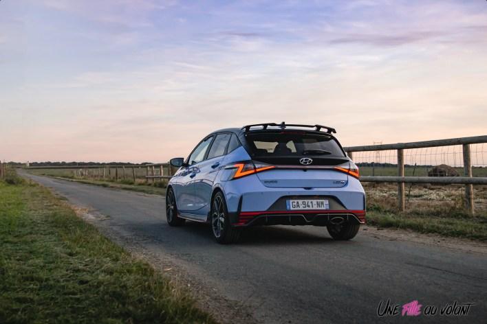 Photo trois quart arrière Hyundai i20 N 2021