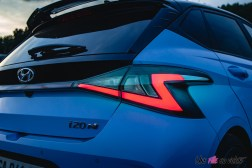 Photo feux arrière Hyundai i20 N 2021