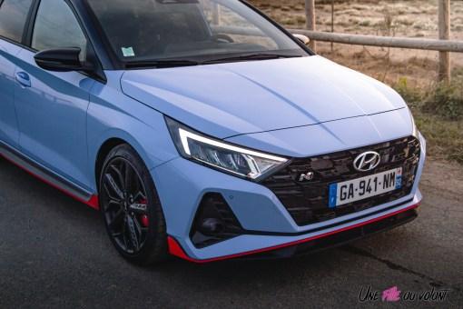 Photo capot Hyundai i20 N 2021
