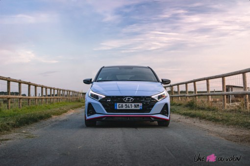 Photo face avant Hyundai i20 N 2021