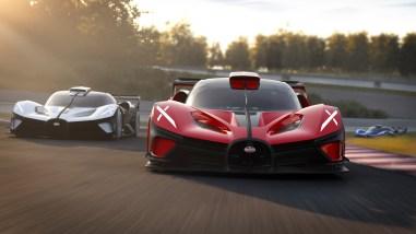 Photo Bugatti Bolide W16 2021