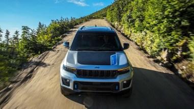 Photo face avant Jeep Grand Cherokee 2021