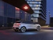 Photo arrière statique Renault Megane E-Tech Electric 2021
