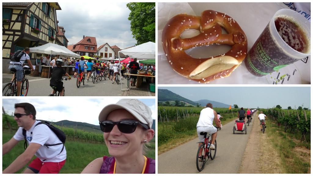 Slow Up Alsace Photo Céline Schnell Une Fille En Alsace