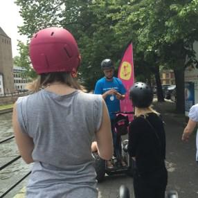 Segway avec One City Tours à Strasbourg