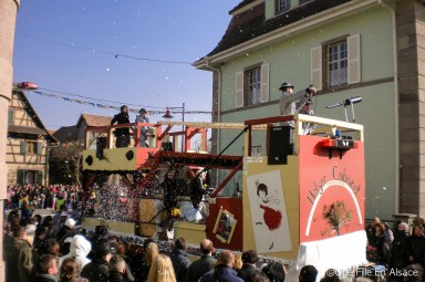 Mon carnaval en Alsace