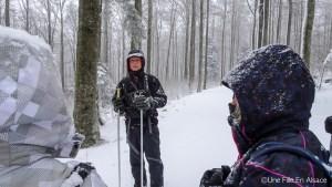 Randonnée raquette Champ du Feu Photos Celine Schnell Une Fille En Alsace