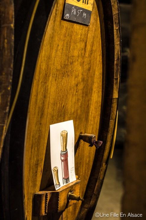 Cave viticole à Ammerschwihr Auto Rétro Vino Photo Céline Schnell - Une Fille En Alsace