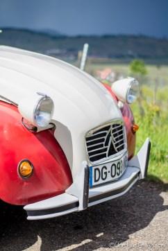 2 CV Auto Rétro Vino Photo Céline Schnell - Une Fille En Alsace
