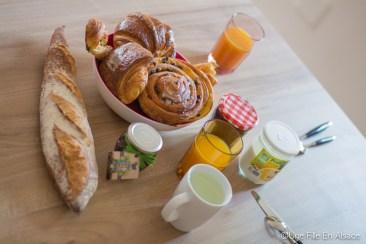 Petit déjeuner made in Boulangerie Théophile Meistratzheim