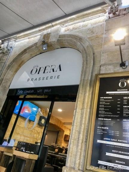 Petit déjeuner à l'Opera Pâtisserie