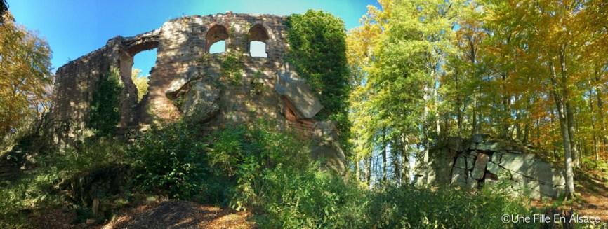 Château d'Oedenbourg Coeur d'Alsace