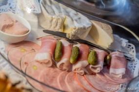 Petit déjeuner Chambres d'hôtes Unter Der Linde - Photo Céline Schnell - Une Fille En Alsace