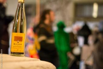 Vin blanc d'Alsace à Bâle en Suisse - Photo Céline Schnell Une Fille En Alsace