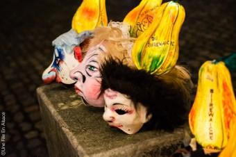 Costume Carnaval de Bâle en Suisse - Photo Céline Schnell Une Fille En Alsace