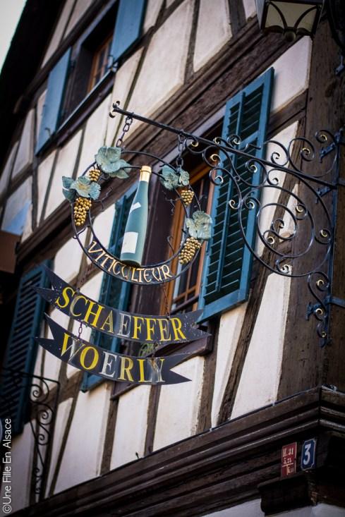 Vins Schaeffer Woerly - Dambach la Ville - Photo Céline SCHNELL Une Fille En Alsace