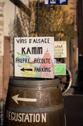 Vins d'Alsace Kamm Jean-Louis et Eric à Dambach la Ville - Photo Céline SCHNELL Une Fille En Alsace
