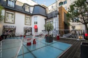 Rooftop Hôtel Hannong Strasbourg - Crédit photo Céline Schnell Une Fille En Alsace