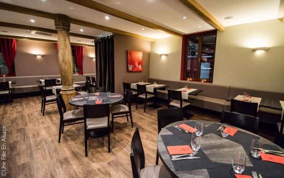 Restaurant le Cordon Rouge à Furdenheim - Photo Céline Schnell Une Fille En Alsace