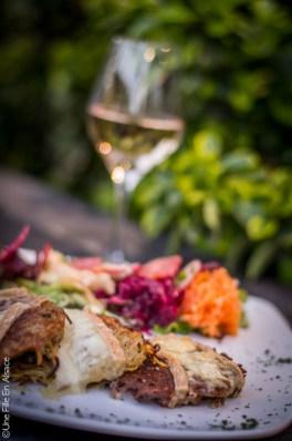 Galette de pommes terre au Munster Restaurant le Cordon Rouge à Furdenheim - Photo Céline Schnell Une Fille En Alsace