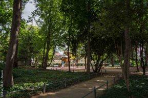 Aire de jeu et parc Saint François Xavier Colmar - Crédit Photo Céline Schnell Une Fille en Alsace