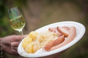 Choucroute d'Alsace au Sentier Gourmand de Scherwiller - Photo Céline Schnell Une Fille En Alsace
