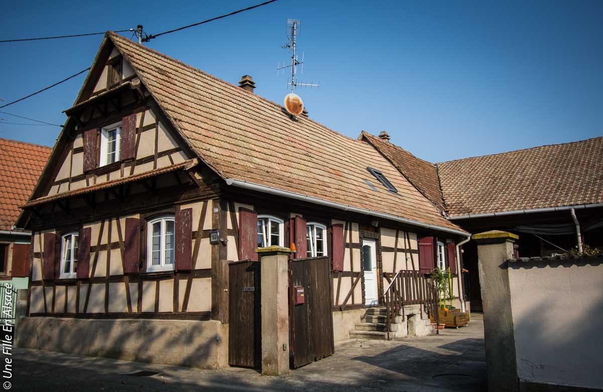 Chambre d'hôtes Bretz'elle à Meistratzheim proche Obernai - Photo Céline Schnell Une Fille En Alsace
