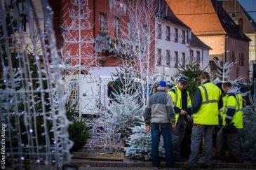Préparatifs de Noël à Haguenau - Photo Céline Schnell Une Fille En Alsace