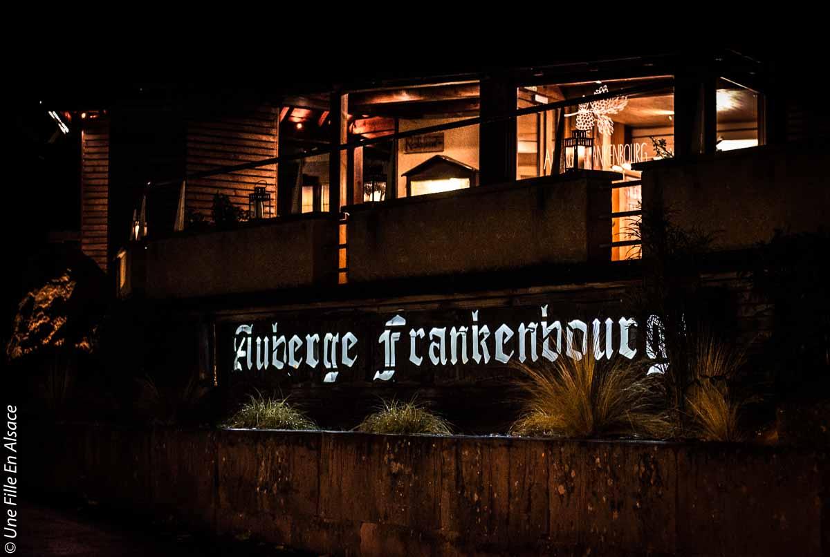 Auberge du Frankenbourg à La Vancelle - Photo Céline Schnell Une Fille En Alsace