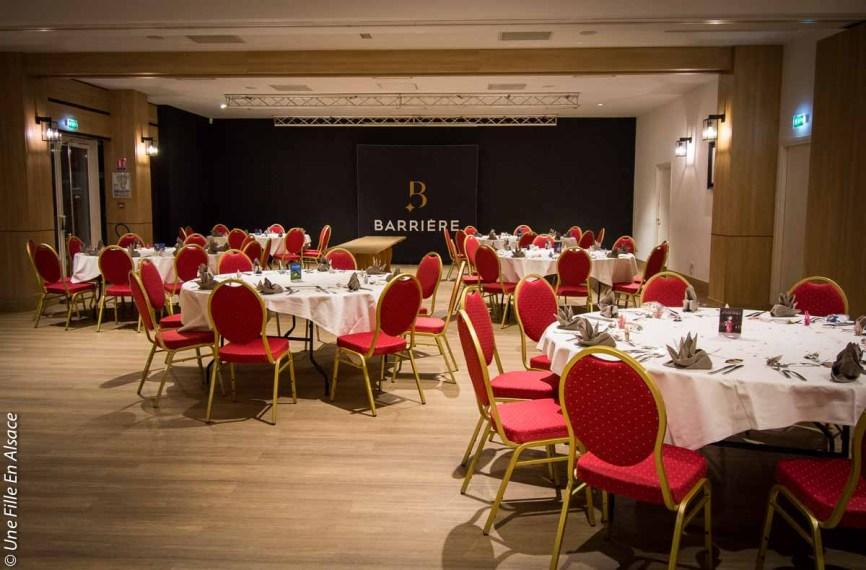 Salle de réception Casino Barrière Niederbronn-les-Bains - Photo Céline Schnell Une Fille En Alsace