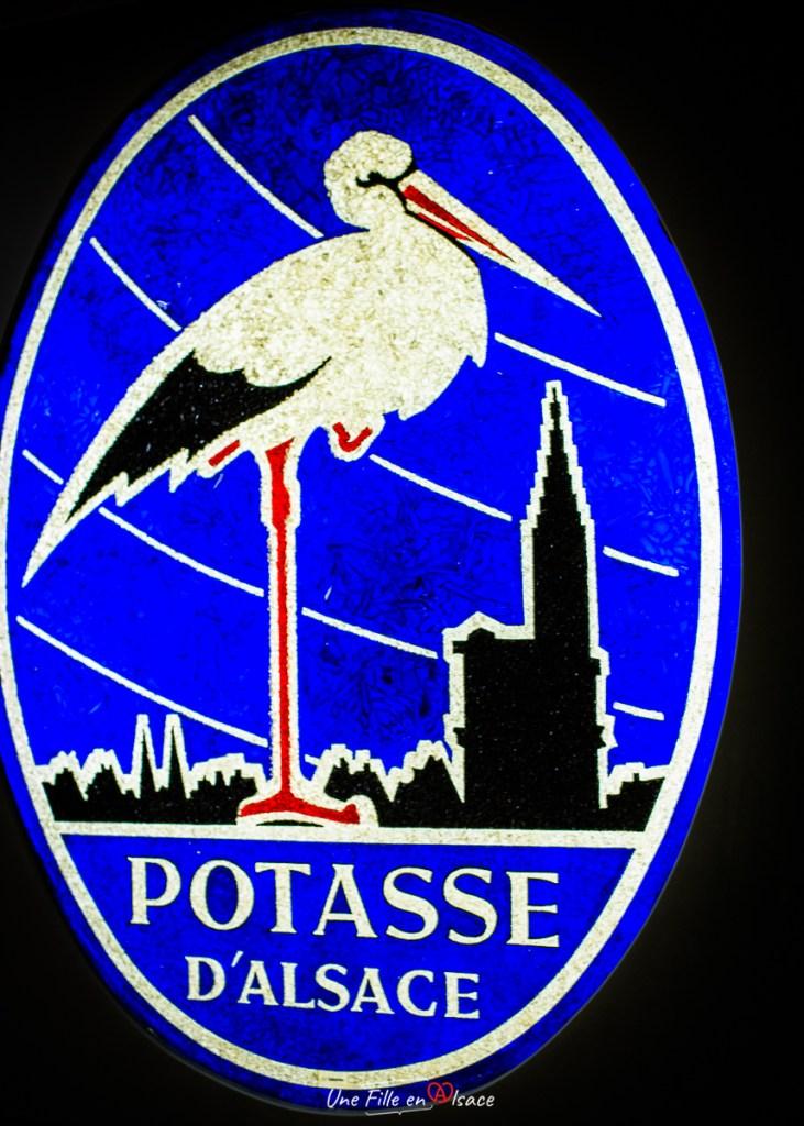 Potasse d'Alsace logo crée par Hansi alias Jean-Jacques Waltz