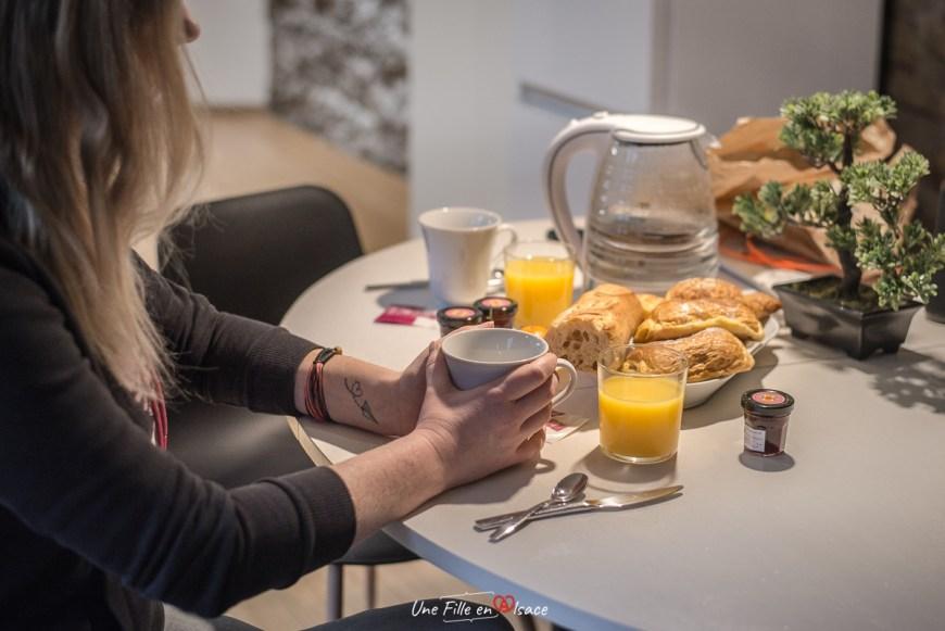 1834 & Spa à Colmar - Petit-déjeuner