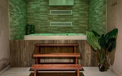 1834 & Spa à Colmar Espace Sauna - Hammam - Jacuzzi