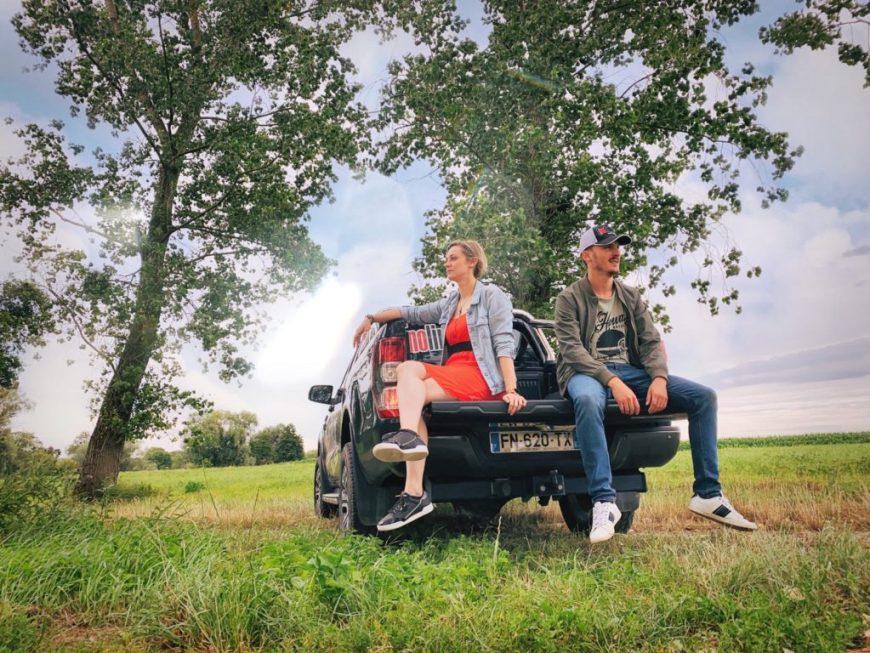 Steve Maire Nolimits.fr et Céline Schnell Une Fille en Alsace