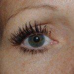 Après l'application du mascara Givenchy Phenomen'eyes