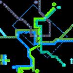 DC transit map