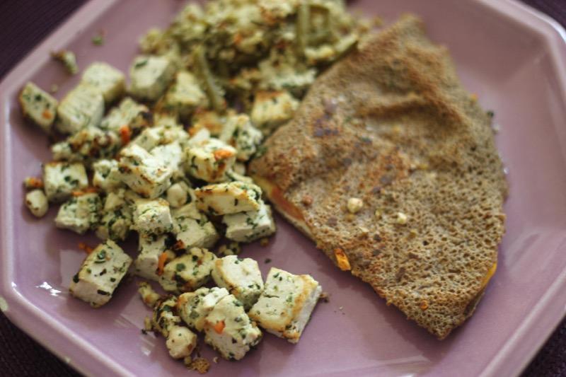 tofu-noisettes-épinard