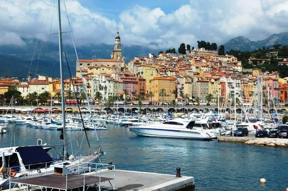 La Côte d'Azur : Villeneuve Loubet, Menton, Eze et Gourdon