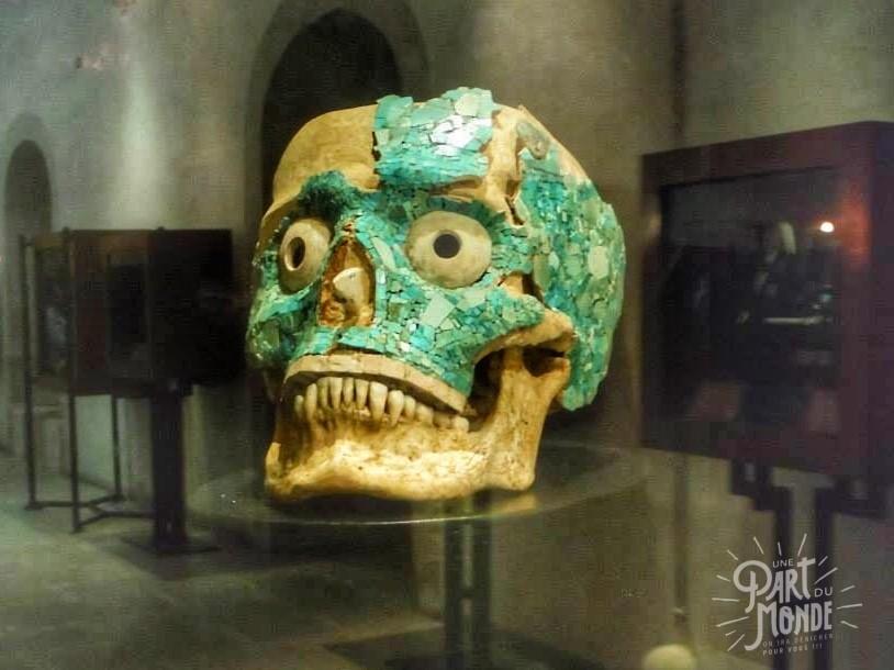 crâne musée Santo Domingo