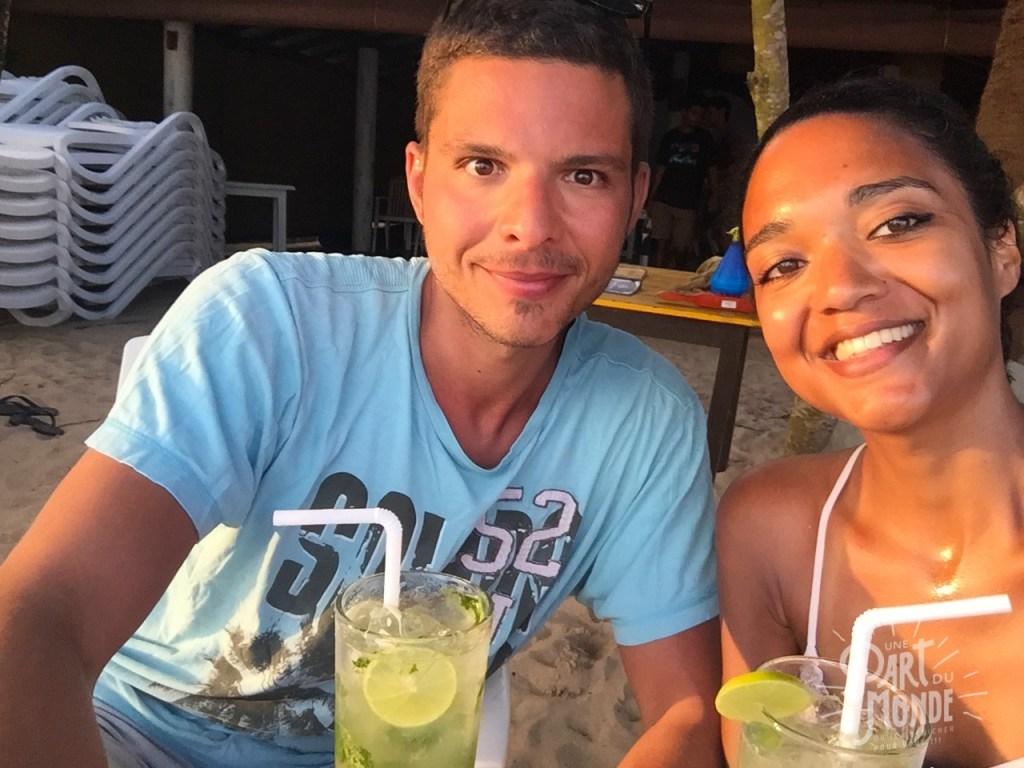 mirissa cocktail couple