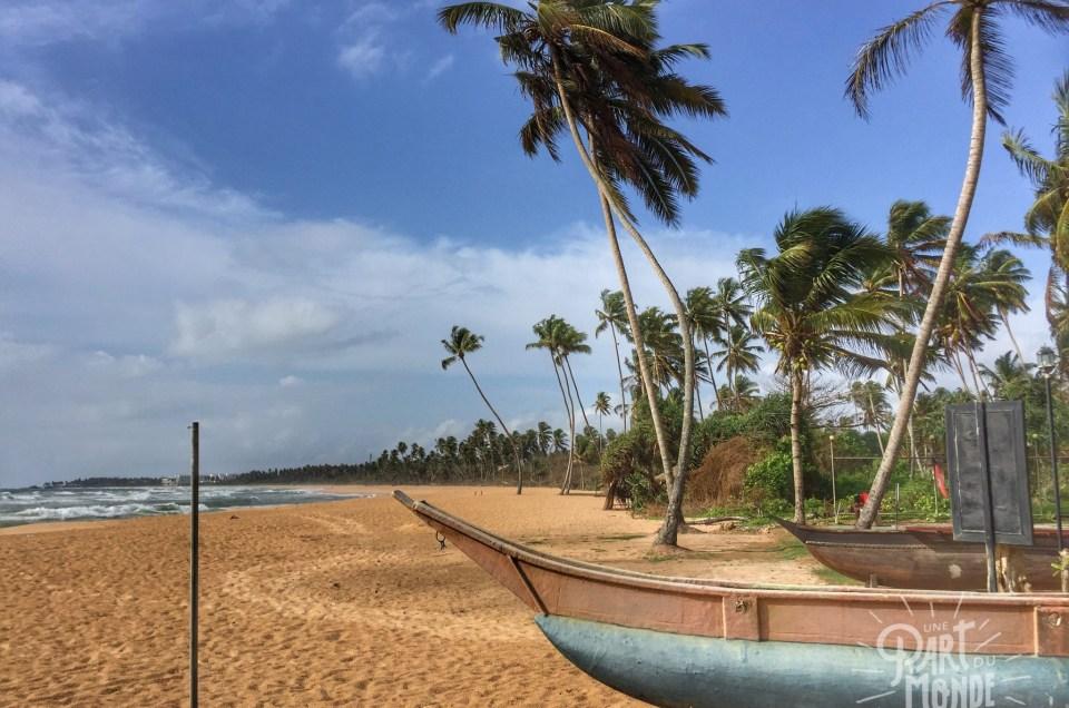 Sri Lanka : Galle et hôtel de luxe sur la côte ouest