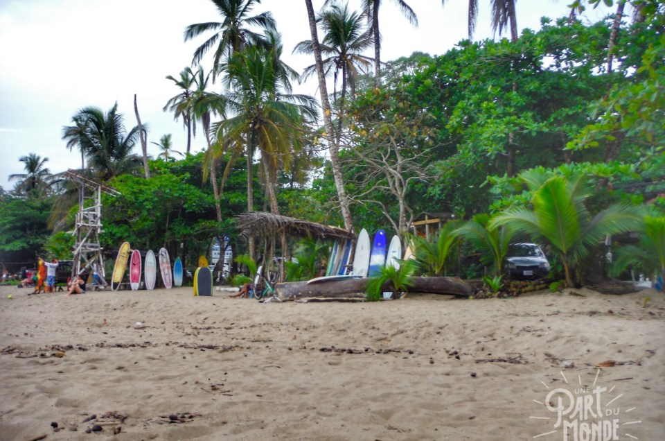 Costa Rica : Puerto Viejo de Talamanca sur la côte caribéenne