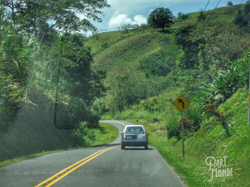 parc volcan tenorio route