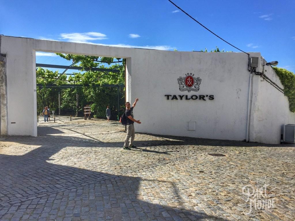 gastronomie à porto taylor's entrée