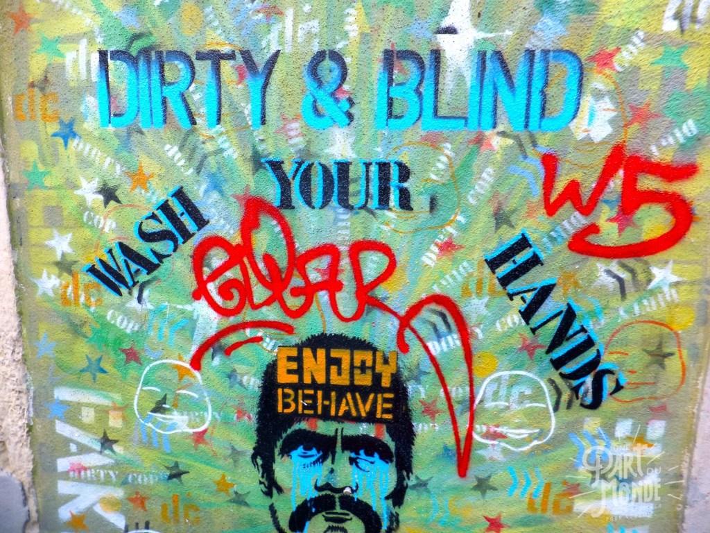 week-end à lisbonne street art rua norte